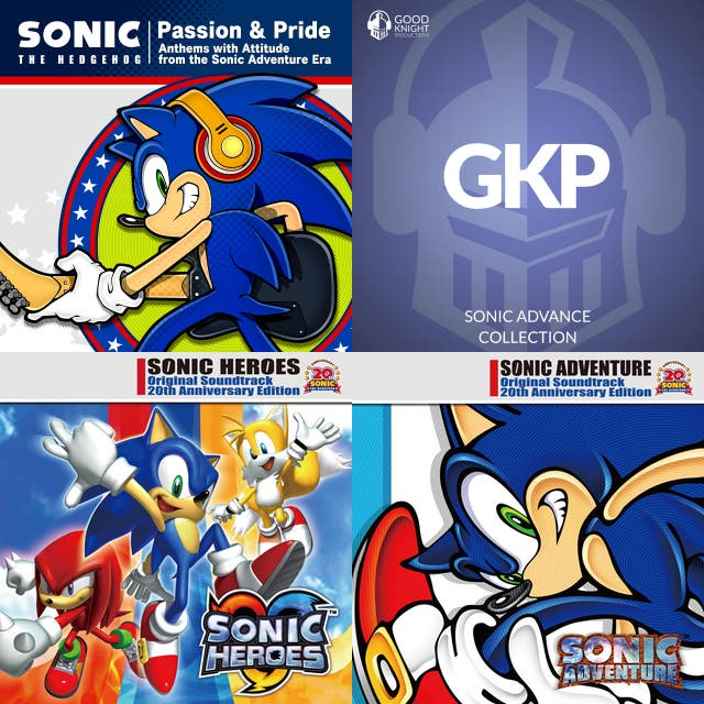 My favourite Sonic Songs 1991/2019! 😊😍👍 on Spotify