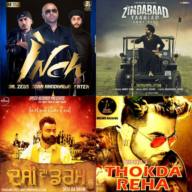 Punjabi Songs on Spotify