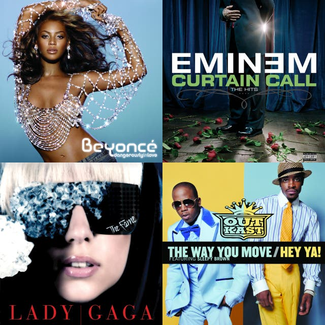 VH1's 100 Greatest Songs of the '00s on Spotify
