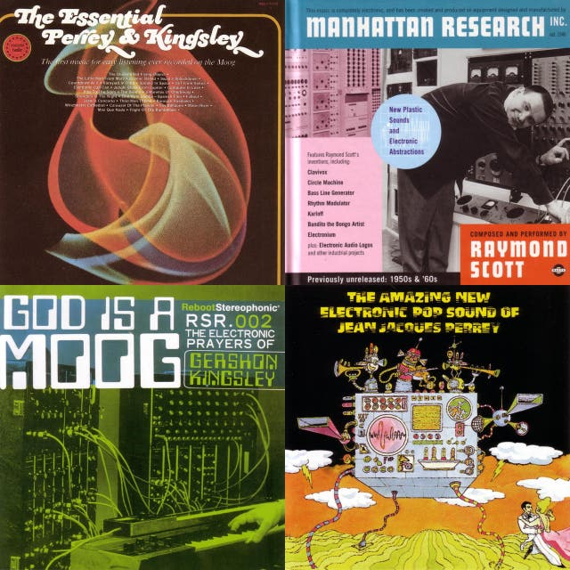 Electronic Pop - Moog Lounge - Experimental : 1960s - 1970s