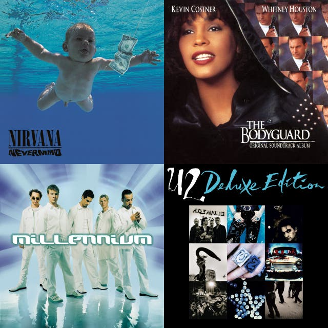 VH1's 100 Greatest Songs of the 90's on Spotify