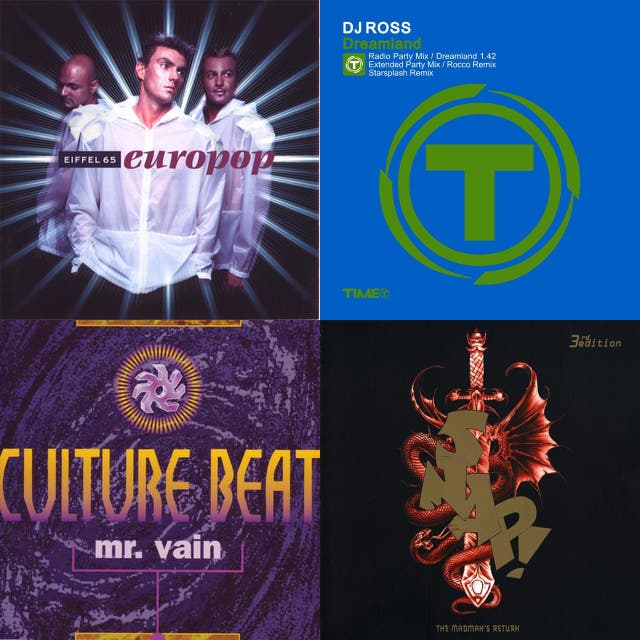 90s And Early 00s Dance House Hits On Spotify