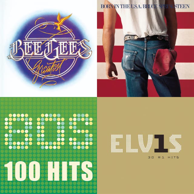 Greatest hits of 50s, 60s, 70s, 80s on Spotify