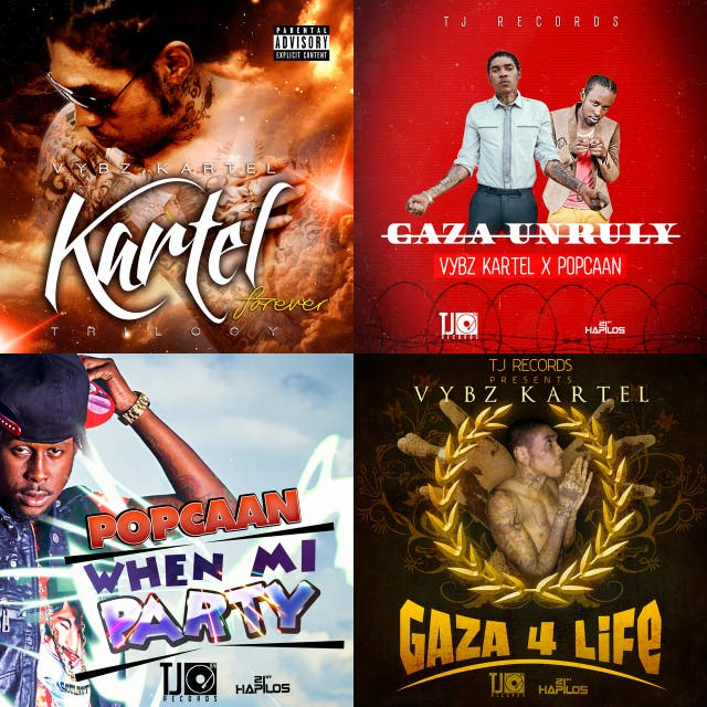 Vybz Kartel & Popcaan – Gaza Unruly - LP on Spotify