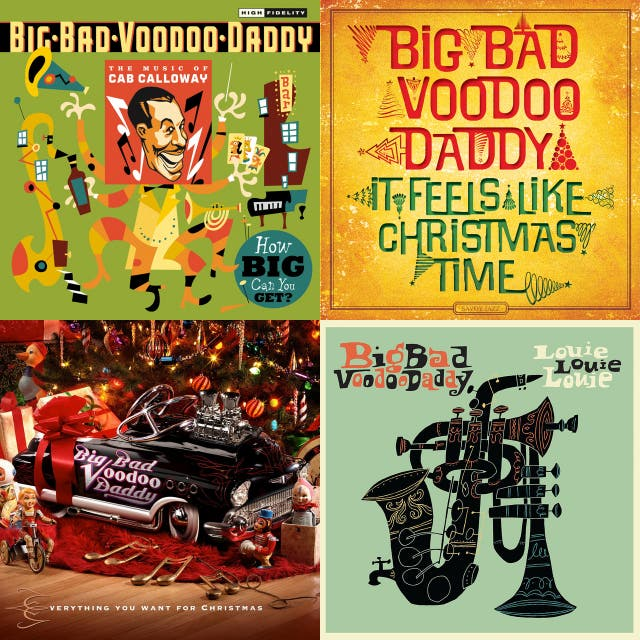 Big Bad Voodoo Daddy Neo Jive Revue 1992 2019 3 2 Hrs On