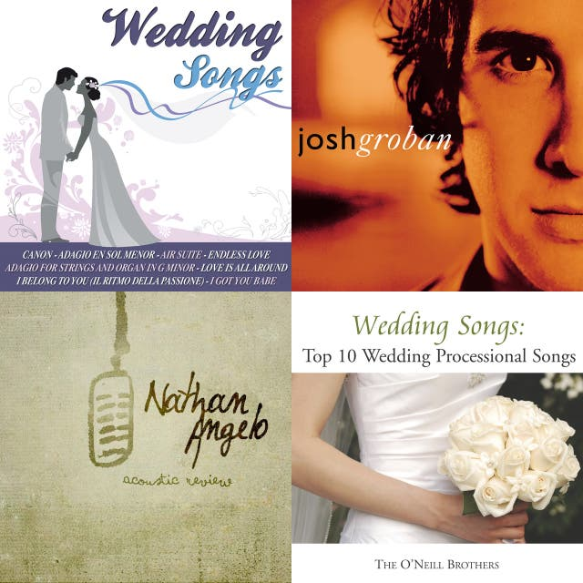 Wedding aisle songs on Spotify