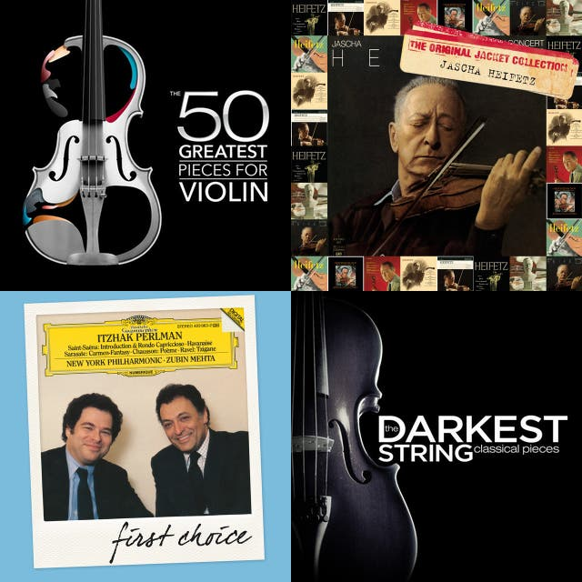 violin/orchestral works on Spotify