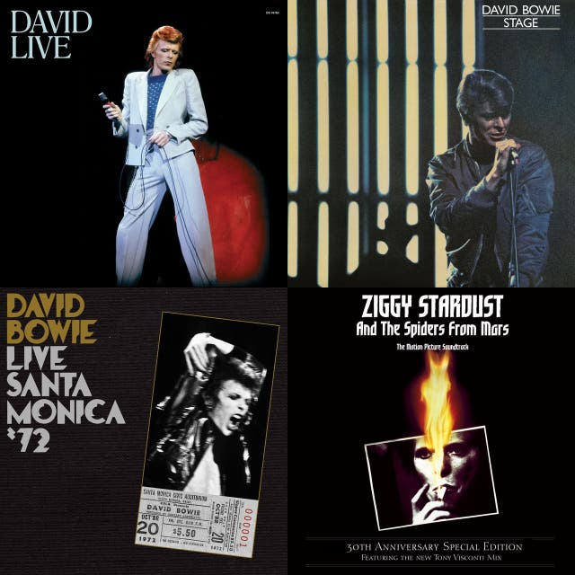 Bowie Live on Spotify