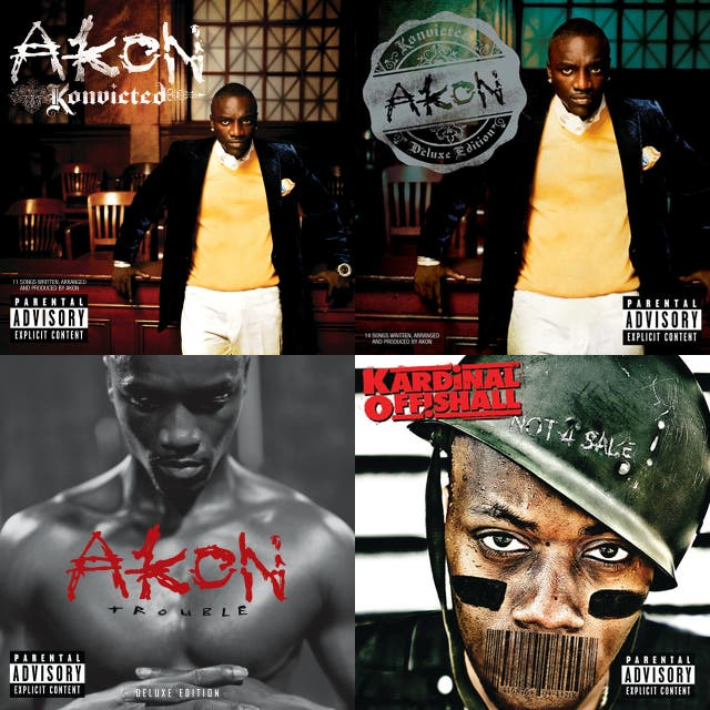 world's best akon songs on Spotify
