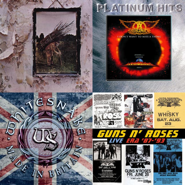 The All Time Greatest Rock Songs Of The 70's, 80's & 90's on