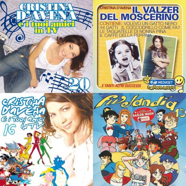Le canzoni di Cristina D'Avena playlist