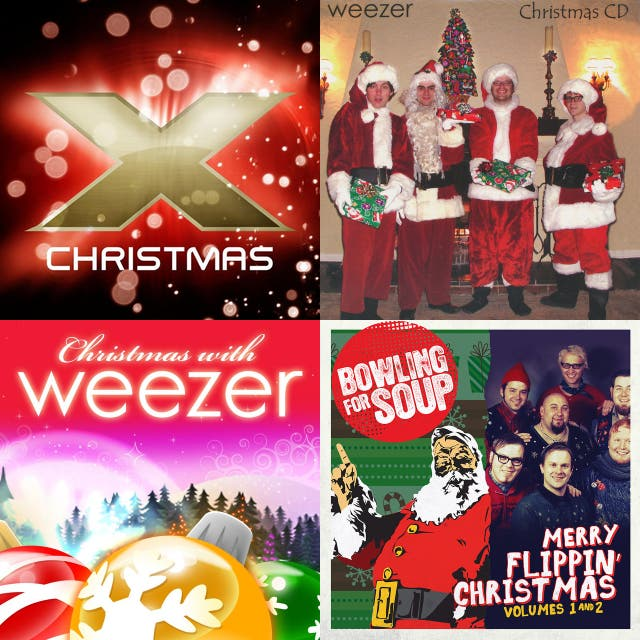 Weezer Christmas.Christmas On Spotify