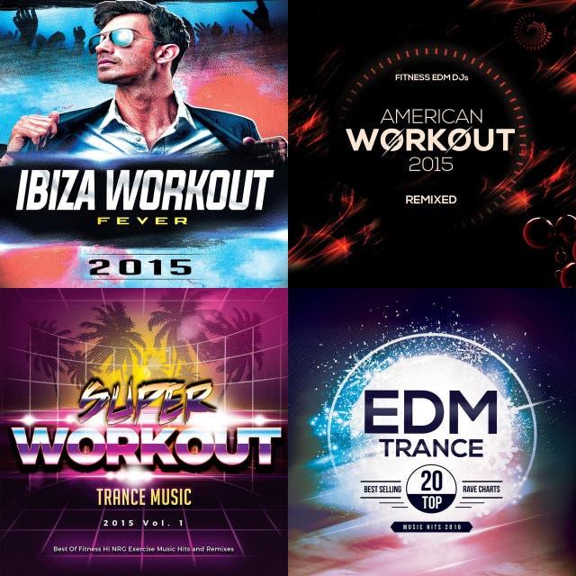 Various Artists – 90 Running & Workout EDM DJ Mixes 2016 on