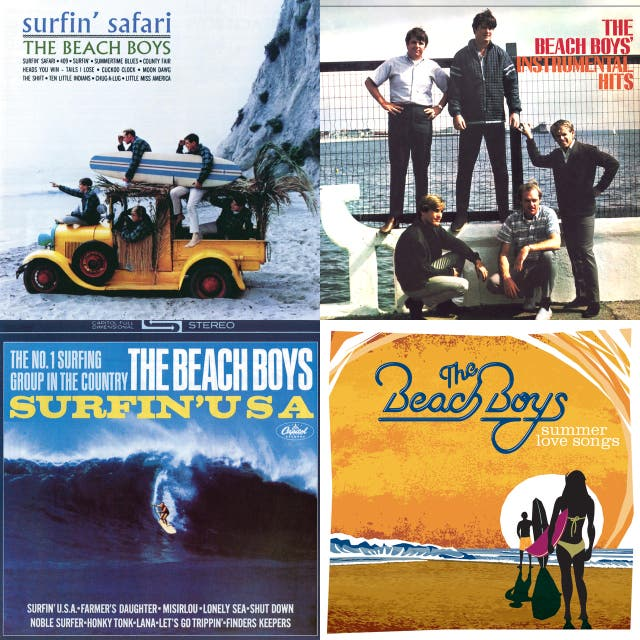 The Beach Boys Summer Love Songs On Spotify