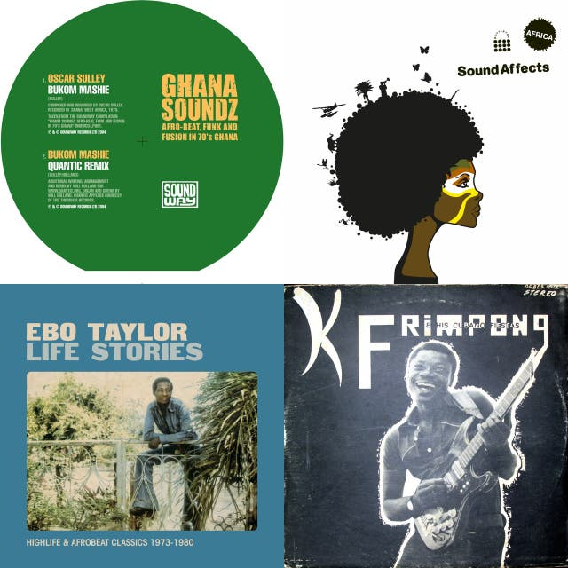 Ghana Soundz (Afro-Beat, Funk and Fusion in 70's Ghana) Soundway