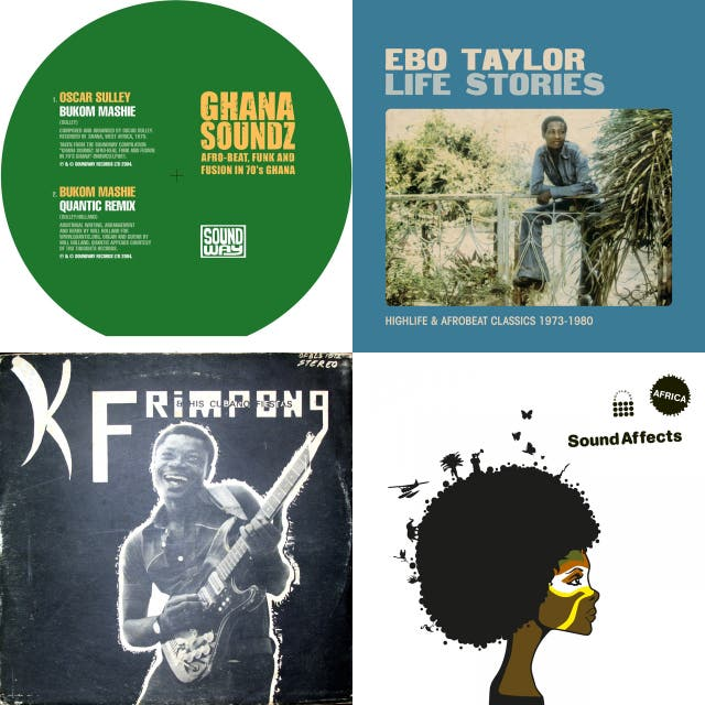 Ghana Soundz: Afro-Beat, Funk and Fusion in 70's Ghana on Spotify