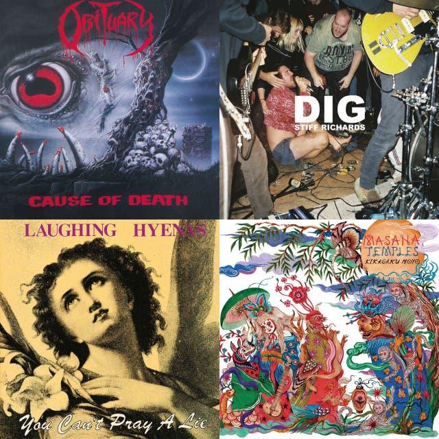Cave Dweller Music June Playlist