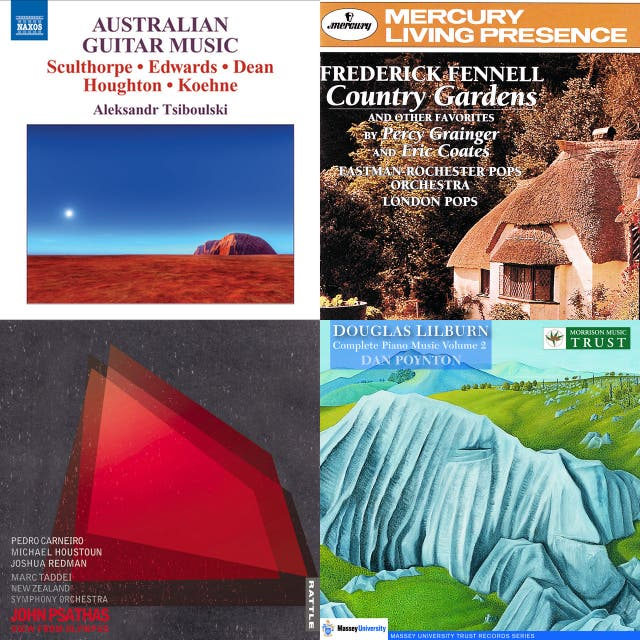 Australian & New Zealand Composers Sampler