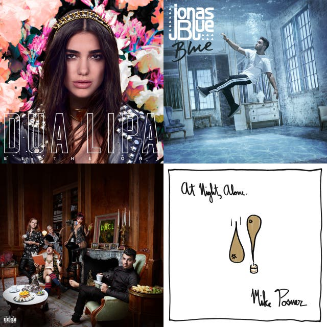 Songs for 2016