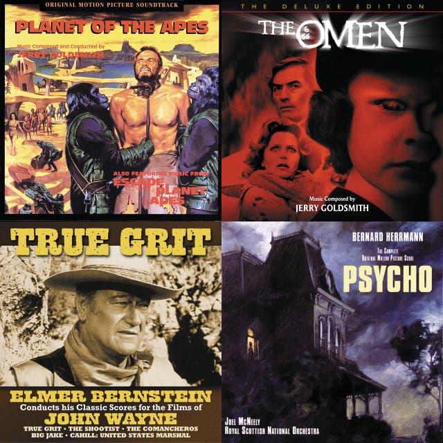 Classic Movie Music Vol 2 Planet Of The Apes The Omen Psycho