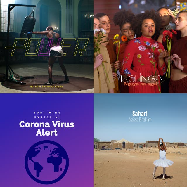Politically and socially conscious music from Africa and the African diaspora