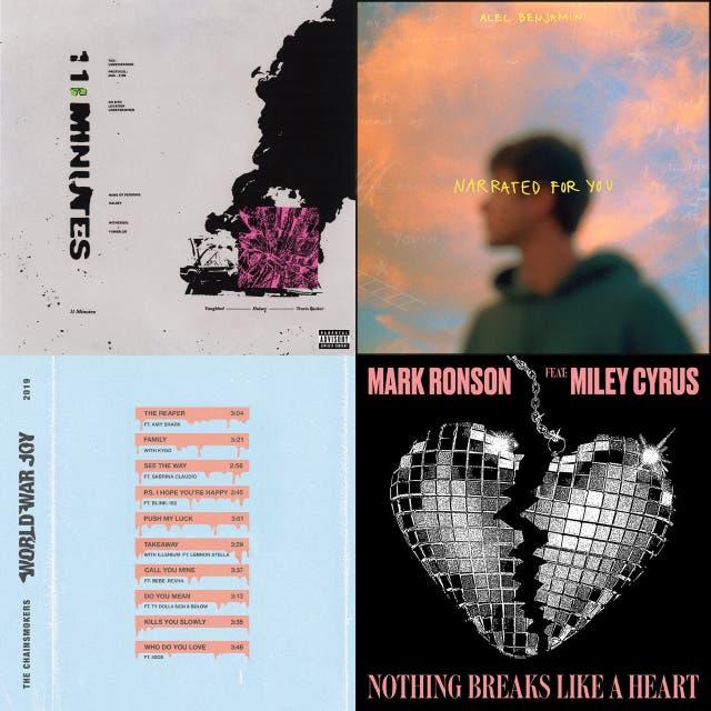 De Top(mar)tijn – 10 nieuwe tracks