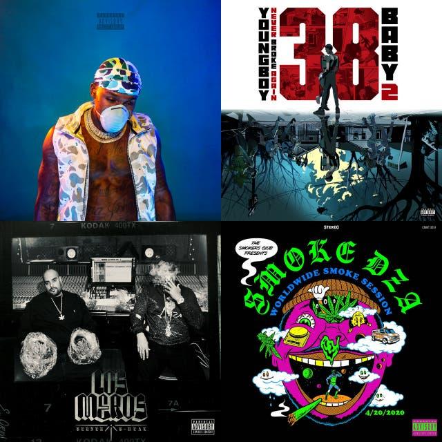 Top 25 Hiphop Album Cuts - April 2020