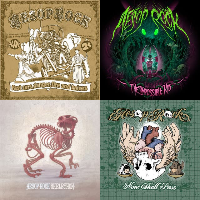 Lotta Years: The Aesop Rock Collection
