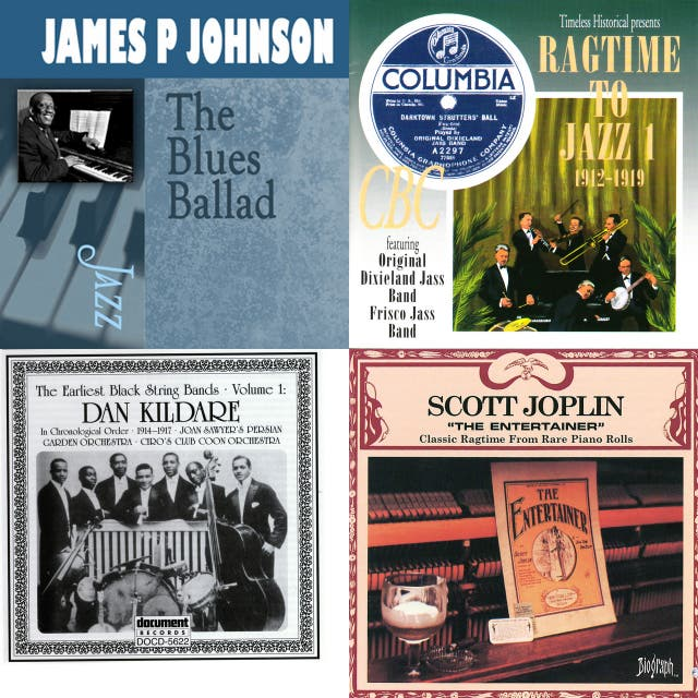 A History of Jazz - 1917: Everybody Else
