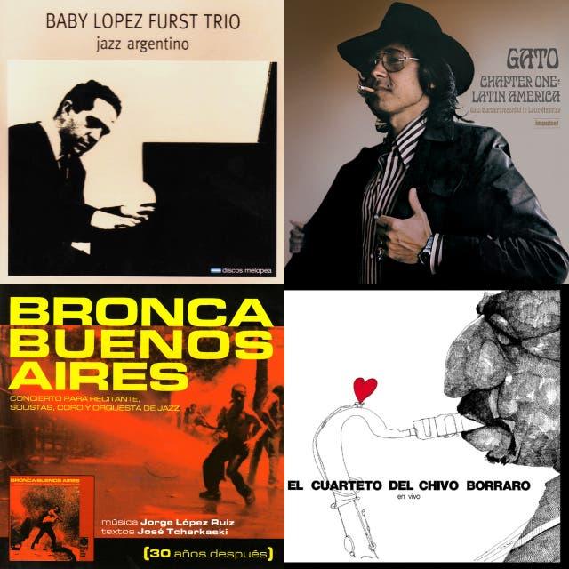 """La música de """"Jazz Argentino. La música 'negra' del país 'blanco'"""". Más en jazzycultura.wordpress.com."""
