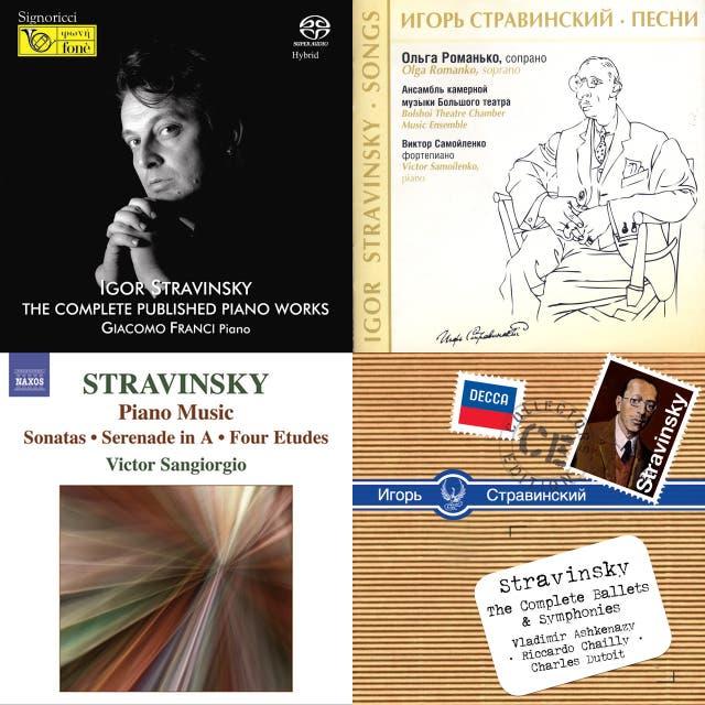 Igor Stravinsky - Complete Chronological Catalogue