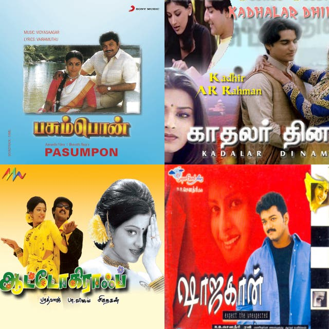 Tamil 1980 to 2000 beat on Spotify