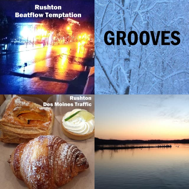 One hour of beat / groove instrumental music by Mark Rushton