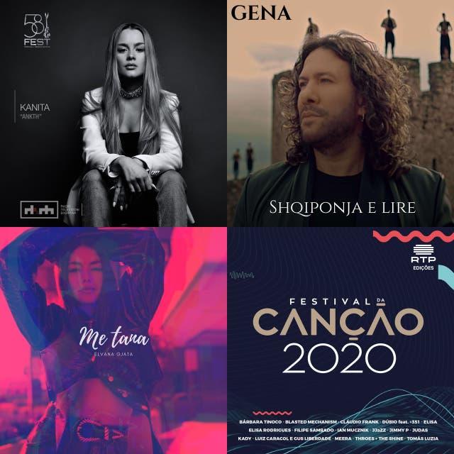 ESCBubble Eurovision National Finals - 2020