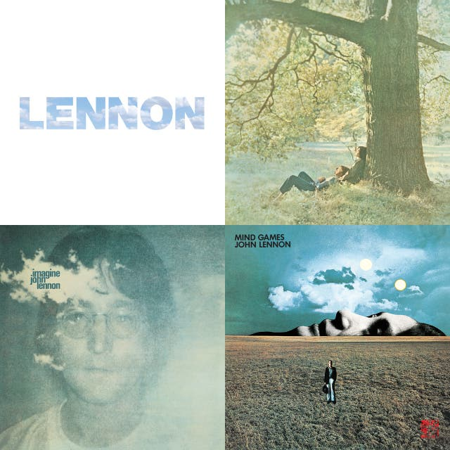 L is for Lennon - Imagine LP and my 'Best Of'