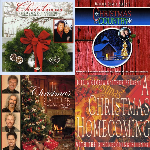 Gaither Christmas songs on Spotify
