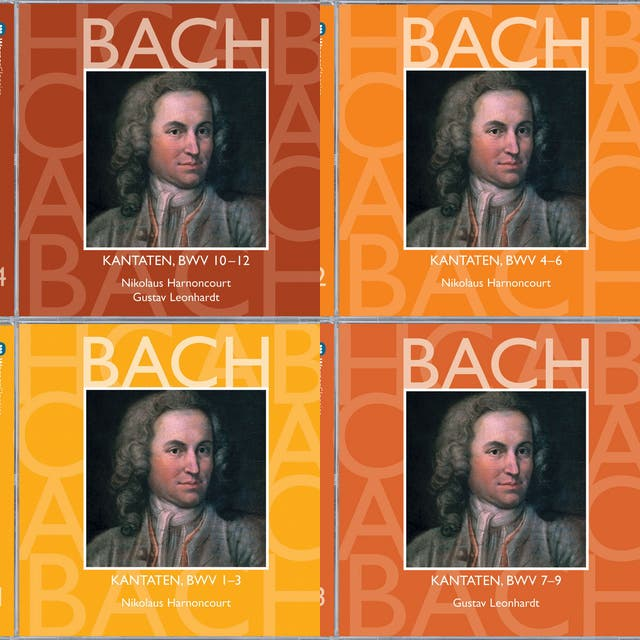 playlist image for Bach Cantatas - Harnoncourt & Leonhardt