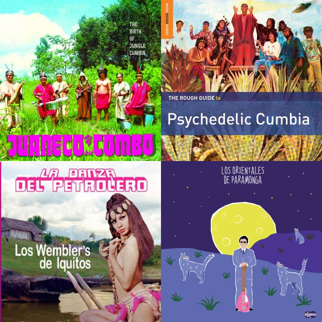 Various Artists – Rough Guide to Psychedelic Cumbia on Spotify